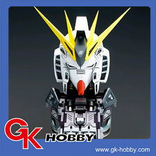256 Korean Neograde Recast 1:35 RX-93 Nu Gundam Bust Head with Base LED System高達