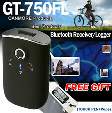 CANMORE GT-750FL GPS RECIVER 65CH BLUETOOTH GPS DATA LOGGER 4 LAPTOPS MOBILES