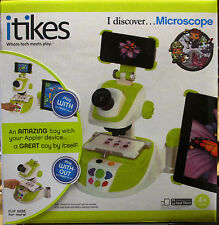 iTikes Discover Microscope Learning an Educational Electronic Toys for Kids 4+