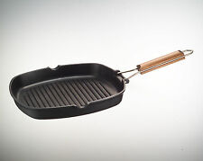 ROTEX  BIALETTI EVERYDAY BISTECCHIERA GRILL NIKEL FREE PIASTRA BARBECUE 20X20 CM