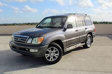2005 Lexus LX Luxury Sport Utility 4-Door
