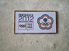 INNSBRUCK 2012 YOG YOUTH OLYMPIC PIN NOC DATE TAI PEI