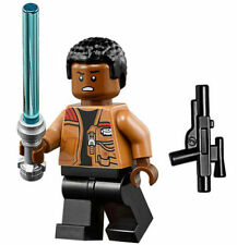 LEGO STAR WARS MINIFIGURE FINN WITH BLASTER AND LIGHTSABER 75139 75105