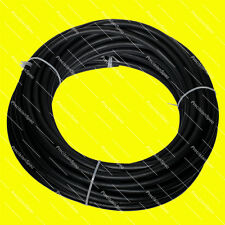 "AN6 6AN (3/8"" / 10mm) Black Push On Lock Loc Socketless Fuel Water Oil Hose 1M"