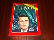 TIME magazine April 7 1961 Apr 61 4/7/61 U. S. DEFENSE ROBERT McNAMARA no label