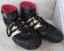 Adidas Tyrint Wrestling Shoes Black Gold Red 931707 - SIZE 13