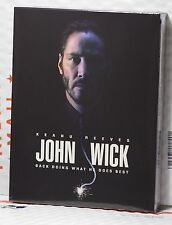 NEW JOHN WICK BLU-RAY FULL SLIP STEELBOOK! DEVIL EDITION! FAC#15! RARE LAST 2!