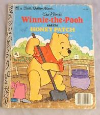 WALT DISNEY'S WINNIE-THE-POOH AND THE HONEY PATCH 1980 A  LITTLE GOLDEN BOOK