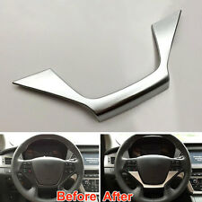 1Pc ABS Interior Steering Wheel Cover Decoration Trim For Sonata 9Th (LF) 2015