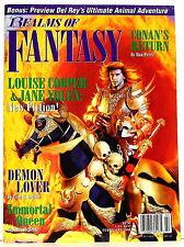 REALMS OF FANTASY  V4 #3 , February 1998— Jane Yolen, Pat York, Gahan Wilson...
