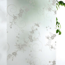 Waterproof Frosted Privacy Home Bathroom Window Glass Self Adhesive Film Sticker