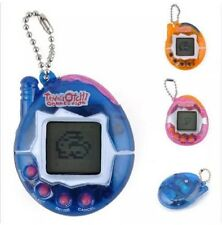 Tamagotchi Virtual Pet Game Keychain Toy Playable Random Color Clear US Seller