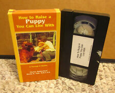 HOW TO RAISE PUPPY YOU CAN LIVE WITH behavior 2-5M pet care VHS socialization