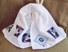 MICKEY MOUSE WHITE  HAND TOWEL: ONE :KITCHEN-BATHROOM CHILD-TEEN:NEW