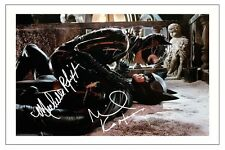 MICHELLE PFEIFFER & MICHAEL KEATON BATMAN RETURNS SIGNED AUTOGRAPH PHOTO PRINT