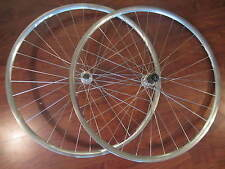 DURA ACE 8 SIS INTEGRATED 32 HOLE HUBS CAMPAGNOLO LAMBDA STRADA 700C WHEEL SET