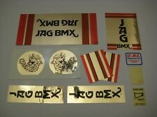1978-80 JAG BMX decal set #1- Mongoose old school BMX decals