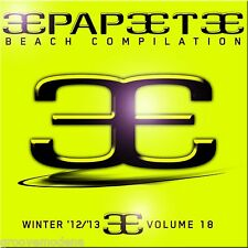 PAPEETE BEACH VOL 18 WINTER INVERNO 2013 COMPILATION DOPPIO CD 38 TRACKS NUOVO