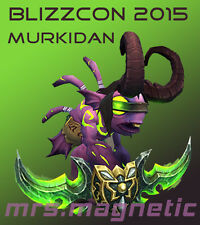 WoW Loot Code - Blizzcon 2015 Murkidan, Nexus Battle Beast, Murkgoblin