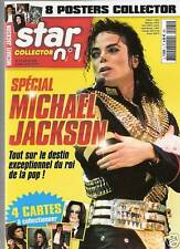 MICHAEL JACKSON MAGAZINE STAR COLLECTOR N°1*8 POSTERS +4 CARTES NEUF