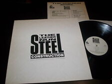 "The Leather Nun ‎""Steel Construction"" LP Wire Records ‎– WRLP 005 Uk 1987"