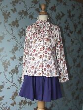 Jottum skirt + blouse size 134/140 - 9/10 years good condition purple