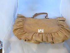 Red Valentino  Leather Ruffle Detail Shoulder Bag/Handbag with Dust Bag