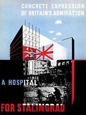 L'information publique de propagande guerre deuxième monde soviétique Stalingrad UK 1954pylv