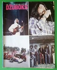 THIN LIZZY/THE BEATLES/AMANDA LEAR IN YUGOSLAV MUSIC MAGAZINE 1979+RIBLJA CORBA