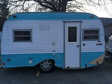 1975 Serro Scotty JS715 Vintage Canned Ham Camper Travel Trailer RARE
