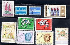 stamps BULGARIA A670 A739(2) A748 A782(2) A798 AP51(2) AP54 LOT