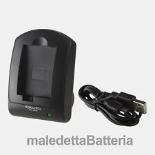 Carica Batteria USB compatto Digibuddy per Sony DSC DSC-W800 DSC-W810 DSC-W830