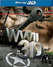 WORLD WAR WWII IN 3D! BLU RAY 3D + BLU RAY NEW! HISTORY CHANNEL, NAZIS