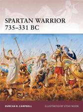Osprey Warrior 163: SPARTAN WARRIOR 735-331 BC (Sparta, Leonidas) / NEU