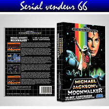"BOX, CASE ""MOONWALKER"". MEGADRIVE. BOX + COVER PRINTED. NO GAME. MULTILINGUAL."