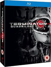 Terminator Quadrilogy Complete Collection 1-4 [Blu-ray Box Set Region Free] NEW
