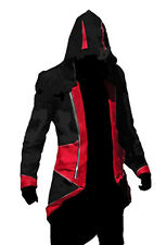Assassin's Creed 3 Conner Kenway Hoodie Jacket Coat Cloak Costume Cosplay XL