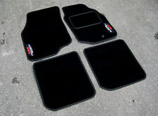 DELUXE Car Mats - Mitsubishi Lancer Evolution 9 (Evo IX) + Evolution MR Logos