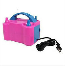 110V Electric Balloon Inflator Pump Portable High Power Color Air Blower