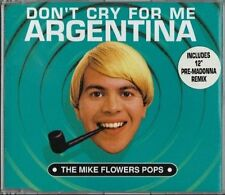 Mike Flowers Pops - Don't Cry For Me Argentina great kitsch 2 single lot
