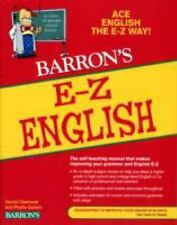 NEW - E-Z English (Barron's E-Z Series)