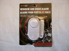 Wireless Home Window, Door, Cabinet, Burglar Security Alarm w/ Magnetic Sensor.