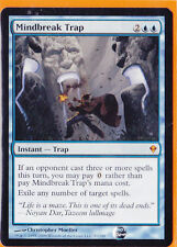 MTG Magic 1 x Zendikar Mythic Rare  Mindbreak Trap  Never played Instant Spell