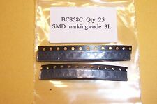 Bc858c PNP SMD SOT-23 high gain audio / SWITCHING transistors. Qtà 25 NUOVI