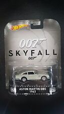 HOT WHEELS RETRO ENTERTAINMENT 007 SKYFALL ASTON MARTIN DB7 1963 SAVE 5% WORLD