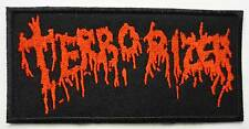 TERRORIZER embroidred patch Napalm Death Nasum LockUp Brutal Truth Rotten Sound