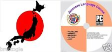 JAPANESE LANGUAGE COURSE  , 3 COURSES ON 2 DISCS