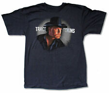 "TRACE ADKINS ""PROUD TO BE HERE TOUR 2012"" NAVY BLUE T-SHIRT NEW OFFICIAL ADULT L"