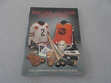 ESSO 1988-1989 NHL ALL-STAR COLLECTION STICKER ALBUM