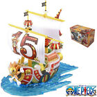 Anime One Piece 15th Anniversary Thousand Sunny Grand Pirate Ship 20cm Figure WB